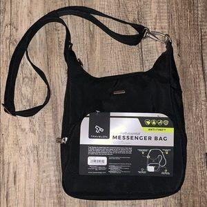 Black Anti-theft Messenger bag